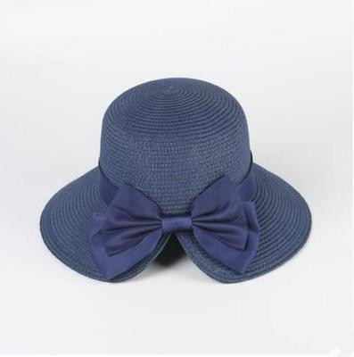 fa630703 2018 Korean version of the summer butterfly split female straw hat outdoor  sun protection hat female sun hat visor-in Sun Hats from Apparel  Accessories on ...