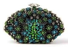 AS16-8 Top Fashion Luxury Diamant Afrikanischen Handtasche/Geldbörse für Party Hochzeit