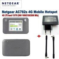 Lot of 10pcs Unlocked Netgear Aircard 782S AC782S Mobile Hotspot CAT4 Wifi Router 4G LTE plus 2pcs 4g antenna