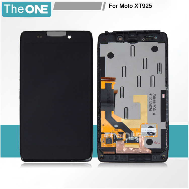 ФОТО Lcd Display Screen+Touch Glass Digitizer +Frame Assembly For Motorola Droid RAZR HD XT926 XT925 Free Shipping