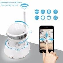1MP 720P HD Wireless Infrared Night Vision Mini MIC Audio CCTV Baby Monitor Home Video IP
