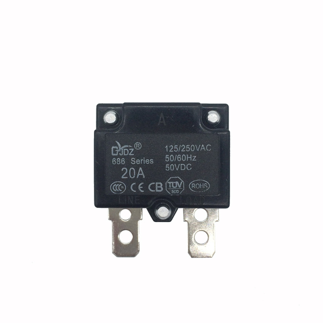 Super Diy 7A 10A 15A Automatic Reset Relay Fuse Therma Switch Circuit Wiring Cloud Hisonuggs Outletorg