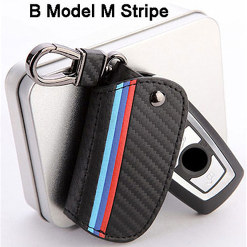 Icecare Carbon Fiber Leather Key Case For BMW E39 E46 E90 F10 F30 E60 E34 F20 E30 X1 X3 X4 X5 X6 1 2 3 4 5 6 7 Series Key Cover leather key case cover for bmw e46 e39 e90 f10 f20 f30 x1 x3 x4 x5 x6 116i 118i m1 m3 m5 key case for bmw key cover car sticker