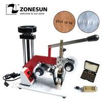 ZY RM5 E (2) Цвет ленты Горячая печатная машина, Дата код ленты принтер, горячего тиснения, номер партии фольги embossor