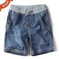 A Nova Marca de Verão das Crianças das crianças calças de Brim Shorts Jeans 2016 Hot Moda Casual Shorts Do Menino
