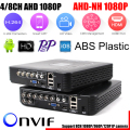 AHD/N DVR 4Channel 8Channel CCTV AHD DVR AHD-N Hybrid DVR/1080P NVR 4in1 Video Recorder For AHD Camera IP Camera Analog Camera