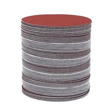 Bộ 100 6 Inch 150mm Giấy Nhám Tròn Đĩa Cát Tờ Nhám 40 2000 cho Lựa Chọn Móc Vòng Chà Nhám đĩa chà Nhám Xay
