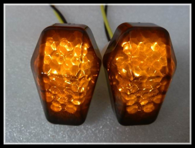 LED Turn Signal Flush Mount For 2003-2007 Suzuki SV 650 650S SV650 04 05 06