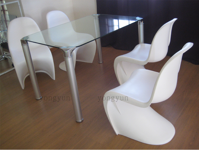 Muebles de comedor plástico Silla de comedor moderno restaurante de ...