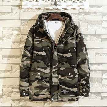 M-4XL 5XL camouflage mens winter jacket warm winter coat men thick parka men loose thermal mens winter jackets and coats