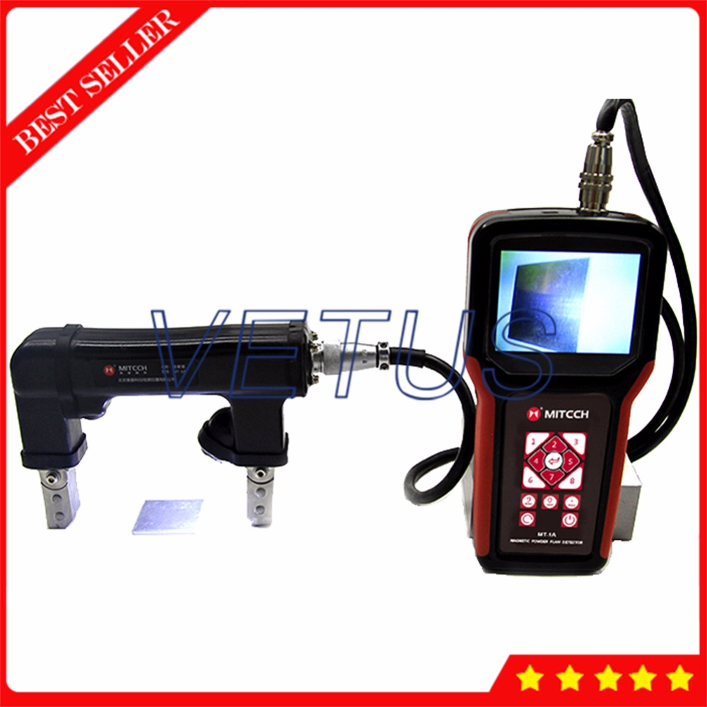 MT 1A Portable Magnetic particle testing equipment with Digital flaw detector real time monitoring function|equipment| |  - title=