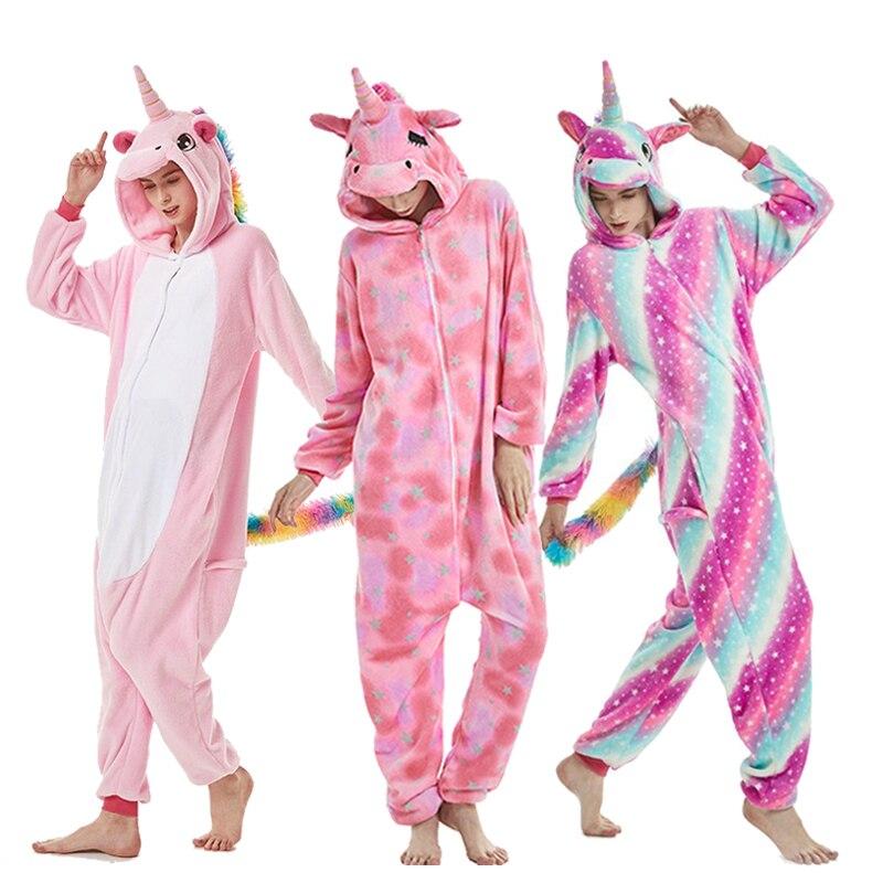 Unicorn Pajamas Kigurumi Onesie Adult Women Animal