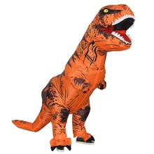 Dinosaur Cosplay Costume for Adult T-Rex Inflatable Halloween Party Purim Carnival Jumpsuit Fantasy High Quality