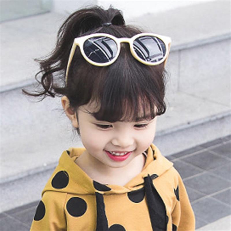 HJYBBSN Round Cat Eye Kids Sunglasses Colorful Comfortable Children Sun Glasses UV400 Stylish For Boys&Girls Kinder Zonnebril