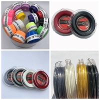 3 Reels tennis racket string +120pcs W perforated tennis overgrips