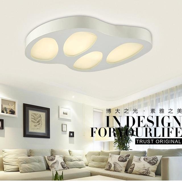 modern led ceiling lights acryl lampshade led light living room