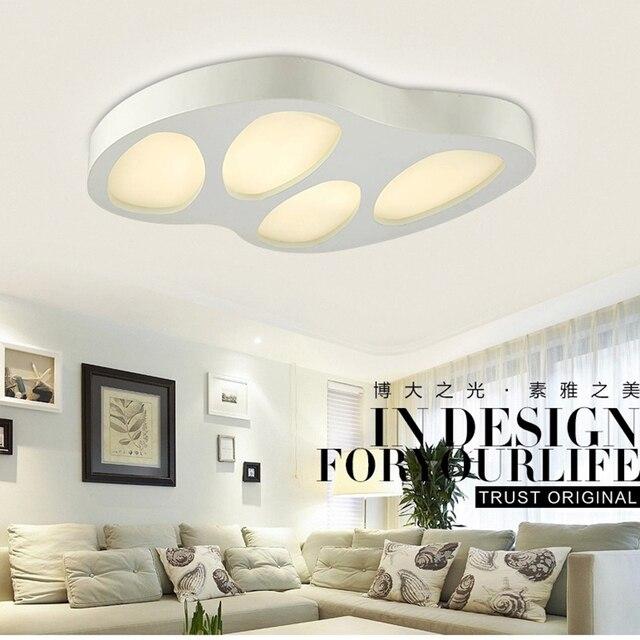 Modern Led Ceiling Lights Acryl Lampshade Led Light Living Room Ceiling  Lighting Fixtures Bedroom Kitchen Plafonnier