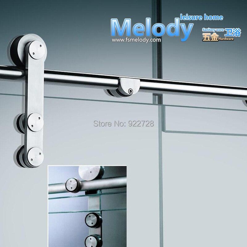 009 Dusche Panel Rahmen-weniger Schiebetür Komplette Set Hardware Edelstahl 304: Freies Und Schnelles Verschiffen SchöNer Auftritt