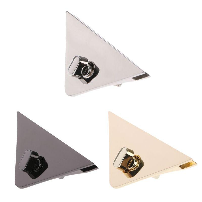 DIY Metal Clasp Turn Lock Twist Locks For Handbag Shoulder Crossbody Bag Purse Elegant Replacement Bag Accessories New