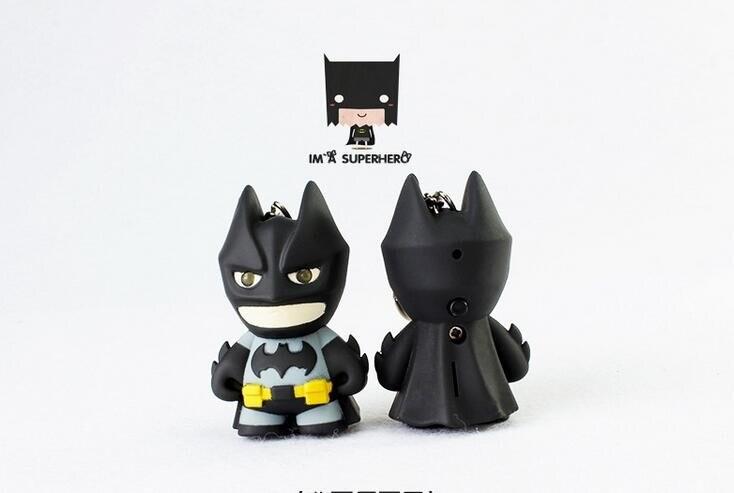 Portachiavi auto moto  Comics Batman led suono Regalo