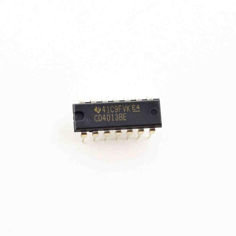100PCS New original CD4013BE CD4013 logic chip DIP-14 pen