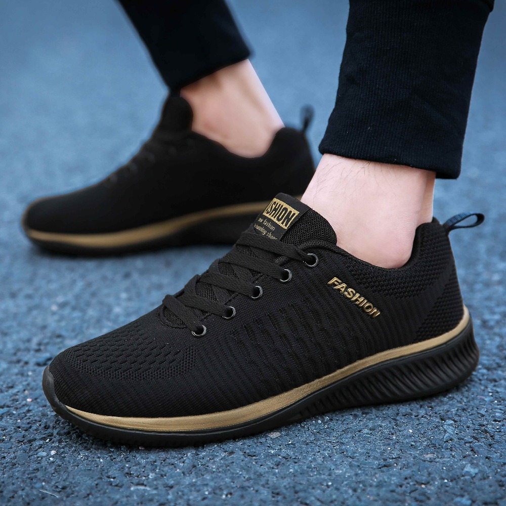 2020 New Men Shoes Lightweight Mesh Walking Sneakers Men Trainers Fashion Breathable Male Casual Shoes Feminino Zapatos