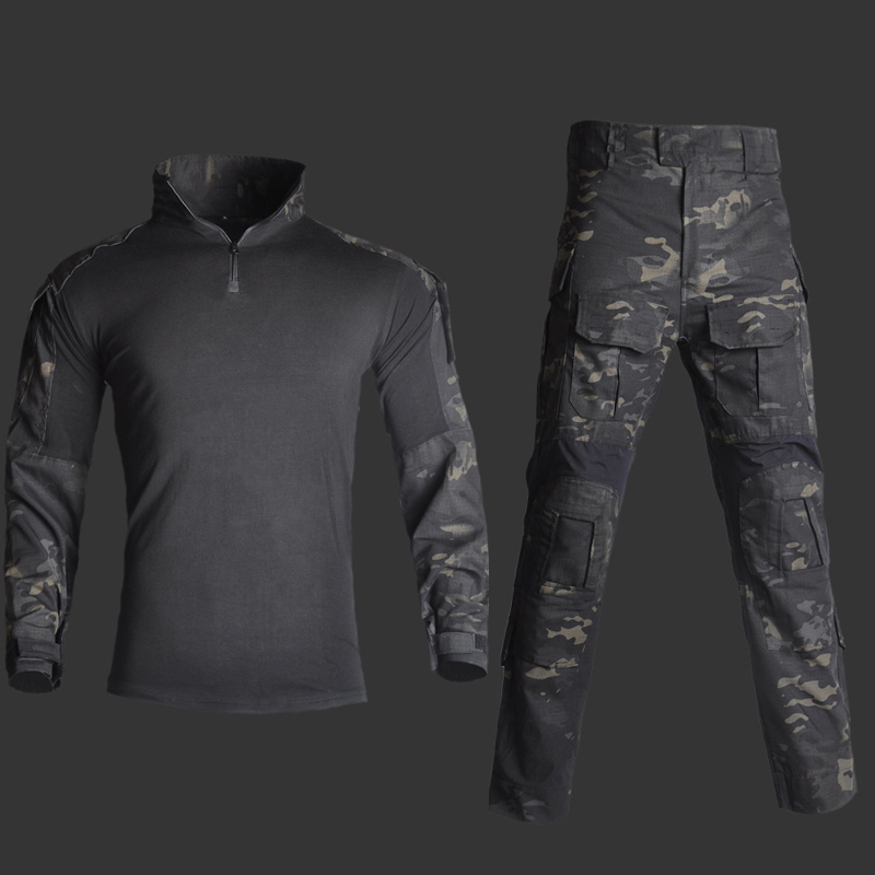 Mege Tactical Suit Military Equipment Camouflage US Army Combat Battle Clothing Navy Seal Camisa Farda Militar Women's Gear
