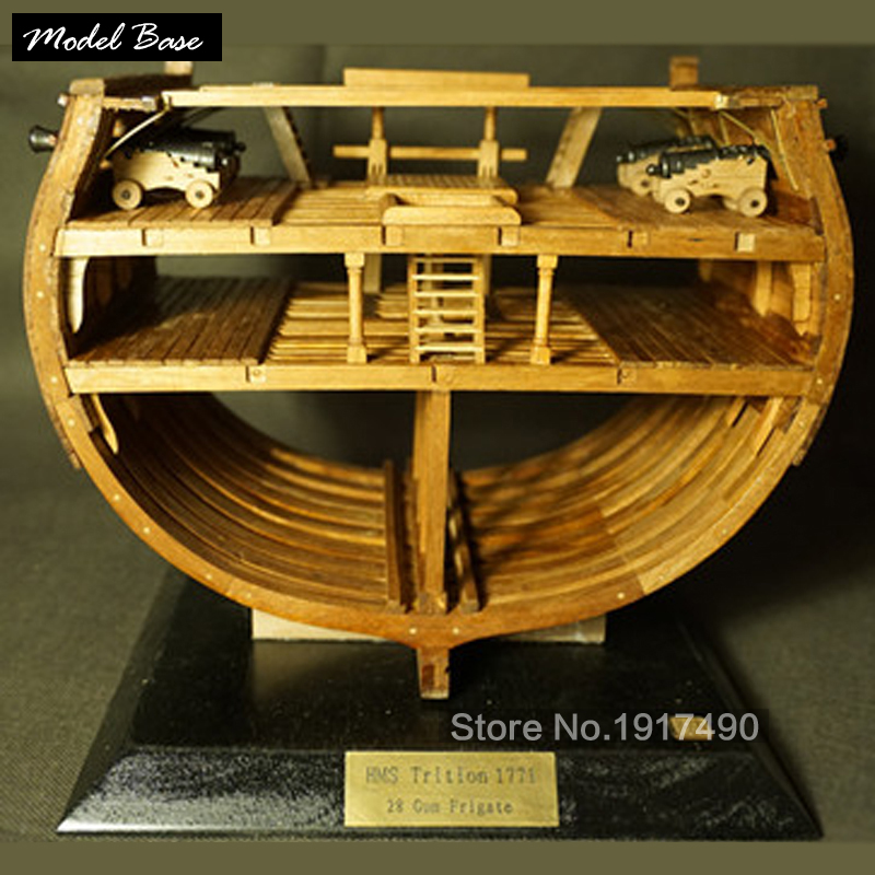 Wooden Ship Models Kits Educational Toy Model-Ship-Assembly DIY Model Wooden 3d Laser Cut Scale 1/48 Full-sectional rib kit wooden ship model kit kids educational games boat wood models 3d laser cut adult assemble model ships scale 1 87 corsair unicorn