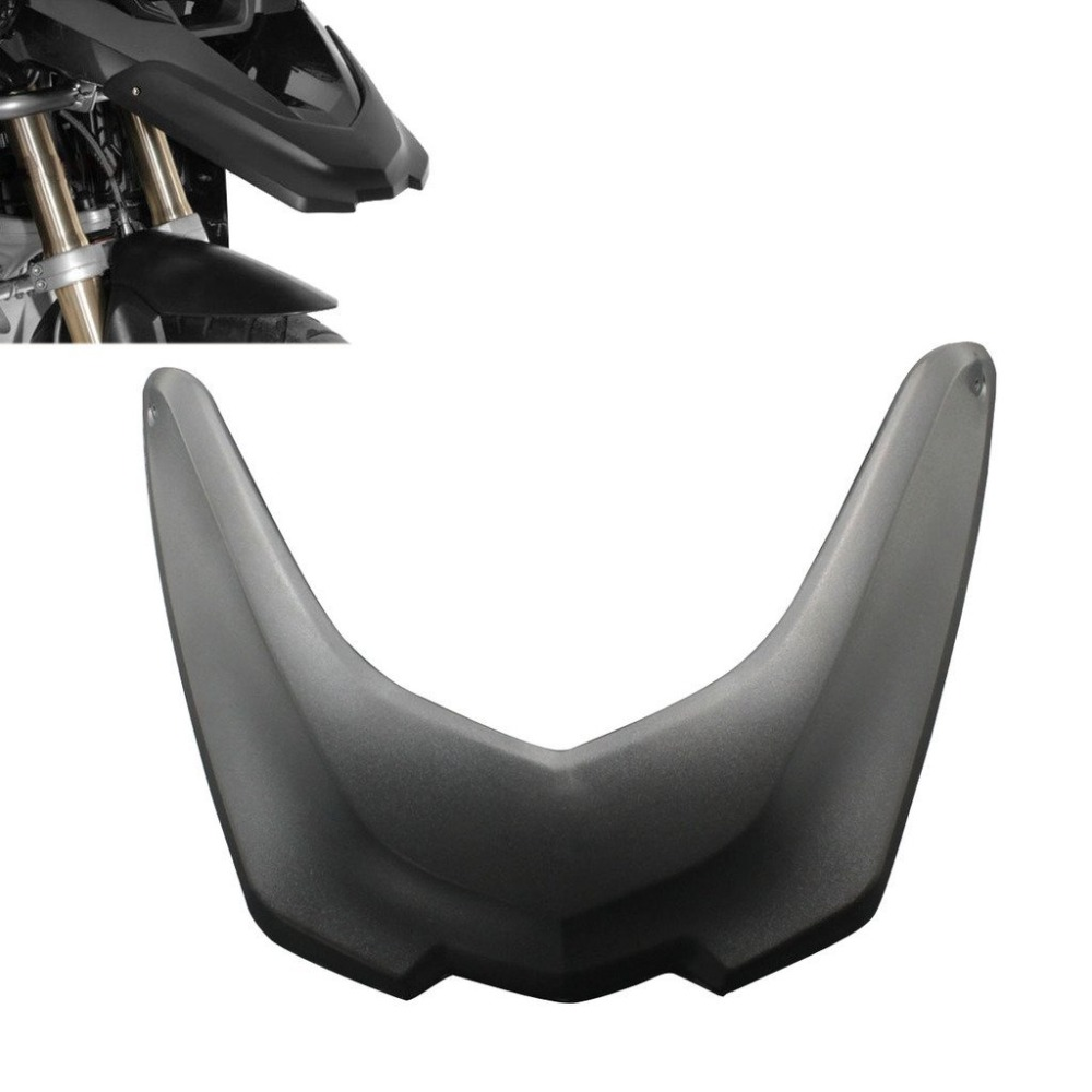 Black Motorcycle Accessories Front Fender Beak Extension Extender Wheel Cover Cowl For BMW R1200GS LC Parts 2013 2014 2015 2016 harley davidson headlight price