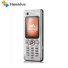 Сотовый телефон sony Ericsson w880 w880i, разблокированный мобильный телефон w880, 3g, Bluetooth, MP3-плеер и один год гарантии