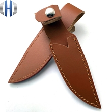 Knife Set Scabbard Custom Universal Leather Cutter Tool Sheath Sleeve