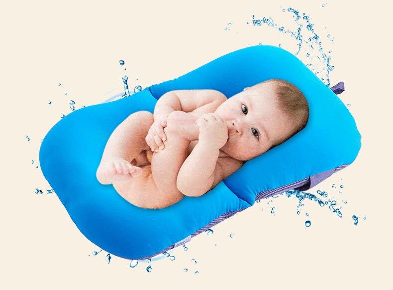 Infant Newborn Baby Bath Tub Pillow Pad Bathroom Cushion