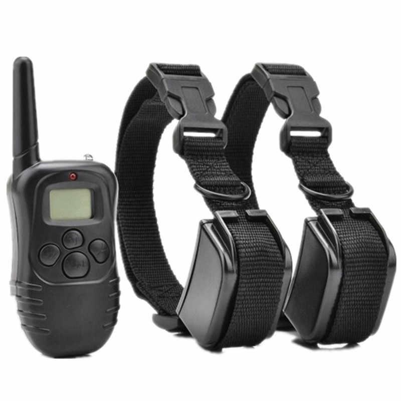 Profesjonalna obroża treningowa dla psa 998DR akumulator zdalnie sterowany impuls elektryczny Anti-Bark wodoodporny wyświetlacz lcd obroża elektryczna dla zwierząt