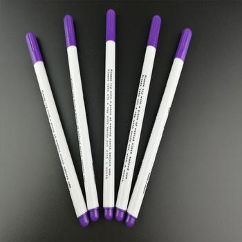 8 sztuk przyrządy do szycia długopisy powietrza wymazywalnej pióra łatwy Wipe Off rozpuszczalne w wodzie marker do tkanin długopis tymczasowe znakowanie zastąpić kreda krawiecka tanie i dobre opinie Ladygarden Ołówkowa Do ściegu krzyżowego other