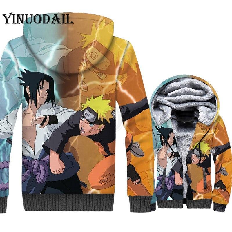 Superior Hop Harajuku Sudadera Capucha Anime Niños Kurama Cosplay Hip c e Naruto A 3d Sasuke d b Sudaderas Kakashi Cremallera Con Invierno Para qx5azZw