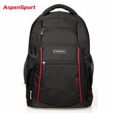 AspenSport High Quality Women Men Business Laptop Backpack 16 Bags Fashion College Computer Laptop Backpack Shoulders