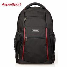 """AspenSport Alta Calidad Mujeres y Hombres de Negocios Laptop Backpack 16 """"Bolsas Universitarios de Moda Del Ordenador Portátil Del Morral Bolso de Hombros"""