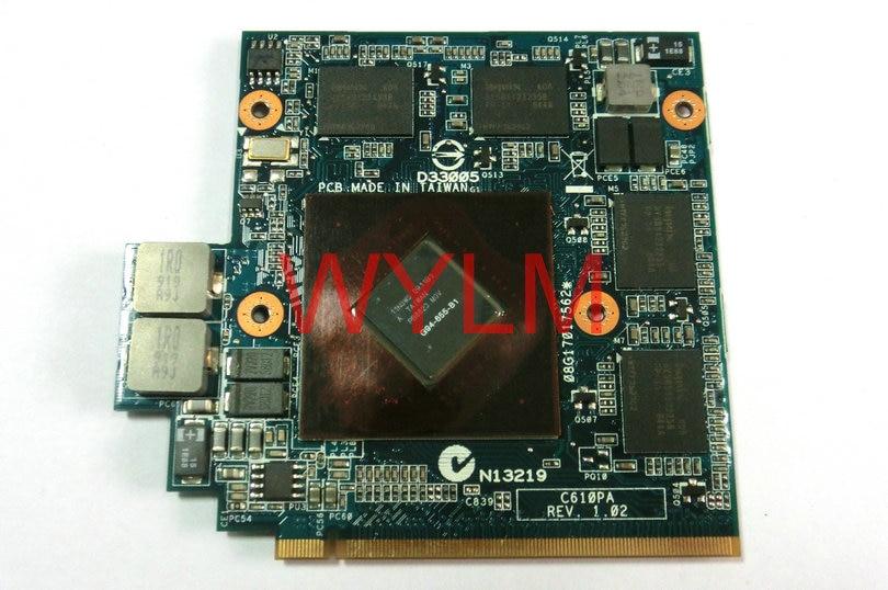 все цены на original G61G G71G G72G graphics video VGA card board C610PA REV 1.02 G94-655-B1 9800M GS 512MB memory  100% Tested Working онлайн