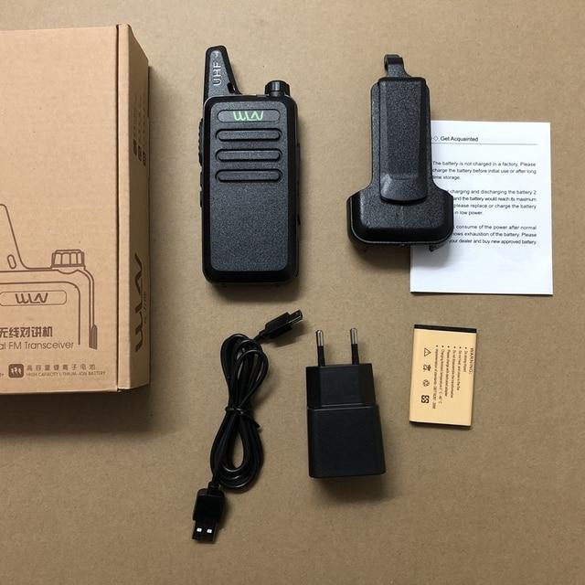 WLN KD C1 UHF 400 470mhz ווקי טוקי אנטנת גוף משולב חם CB שתי דרך רדיו קלאסי KD C1 דיבור ווקי