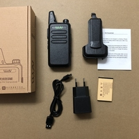 WLN KD C1 UHF 400 470mhz walkie talkie Antenna body integrated ham CB two way radio classic KD C1 talk walky