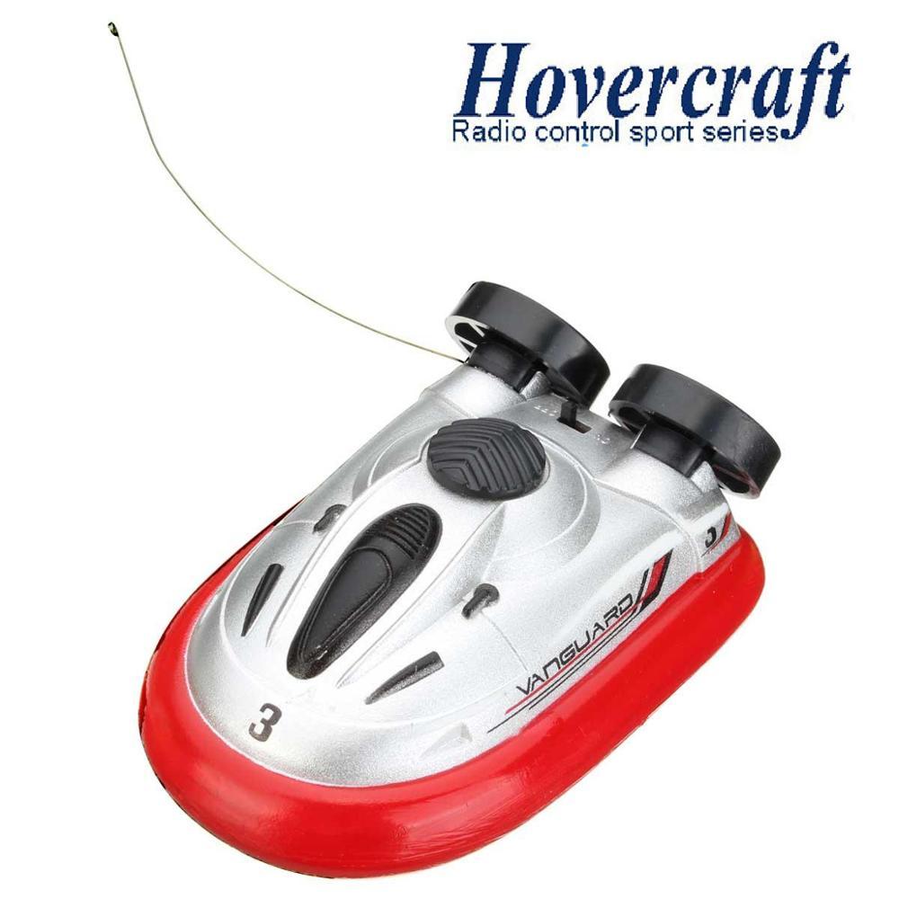 Venta caliente novedad 4 colores Mini Micro I/R RC Control remoto deporte Hovercraft Hover Barco de juguete 220-777 FSWB