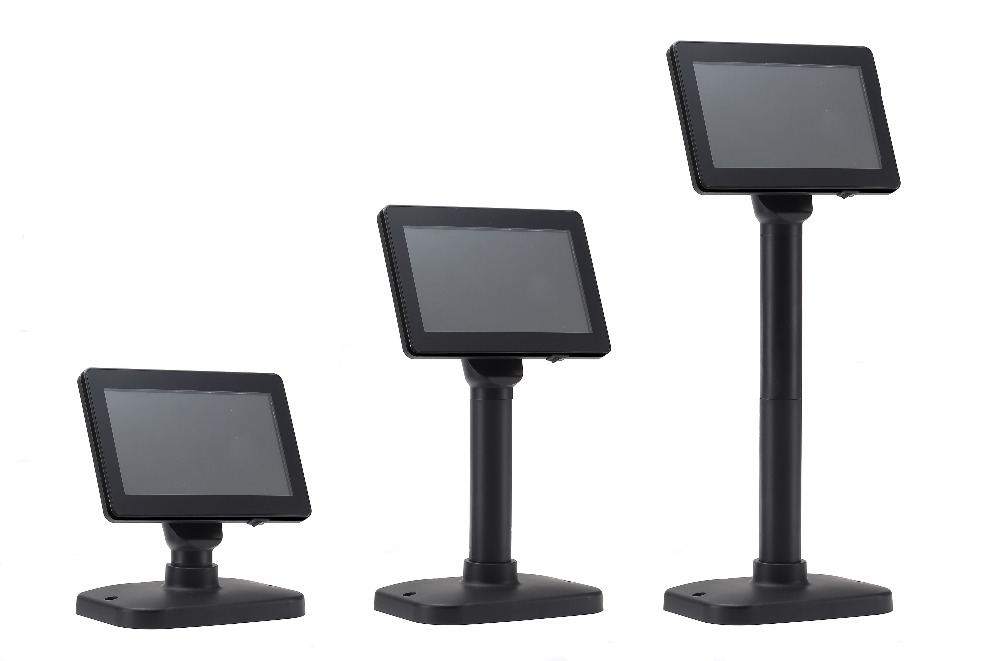 OCPD-LED701: High Brightness 7inch LED Customer Display