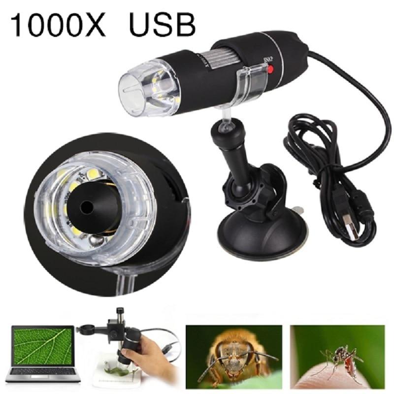 Jetery 1000X8 светодиодный usb-микроскоп Цифровые микроскопы USB эндоскопа Камера микроскоп Прямая доставка