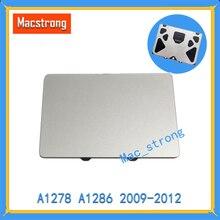 Фирменная новинка оригинальный A1278 сенсорная панель для MacBook Pro 13 «/15» Pro замена A1286 трекпад/сенсорная панель 2009 2010 2011 2012