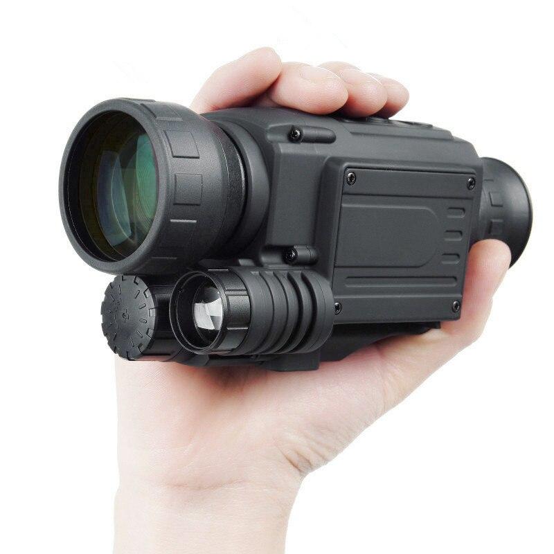 2019 mise à niveau infrarouge Vision nocturne monoculaire portée pour la chasse de nuit haute durée longue portée hd avec caméra intégrée prise de vue - 2