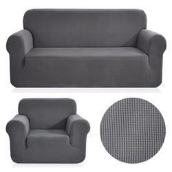 Polar fleece fabric universal sofa Cover Stretch pattern checked sofacovers Washable Removable couch Covers Slipcovers loveseat