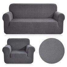 Polare del panno morbido tessuto divano universale Della Copertura Stretch motivo a quadri divano Coperture Sfoderabile E Lavabile divano Coperture Antiscivolo Coperture divano a due posti
