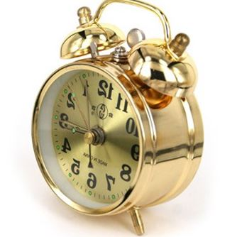 Aliexpress New Old Fashioned Clockwork Alarm Clock Vintage Wound Up Manual Mechanical Metal Movement From Reliable