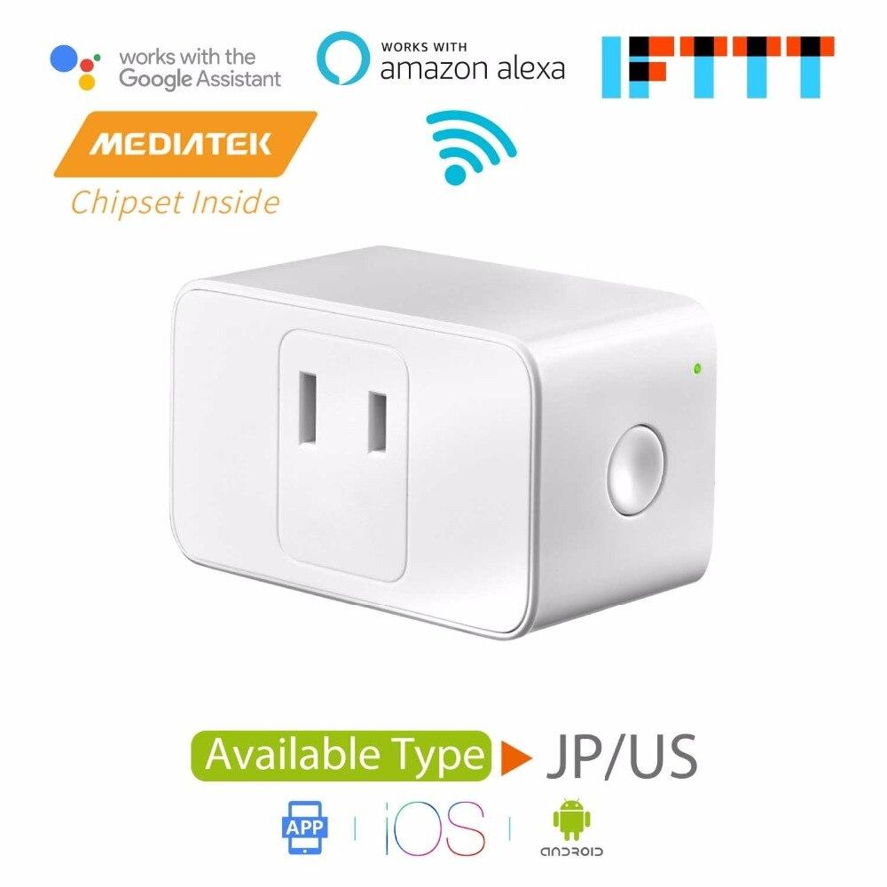US $11 99 |Smart WiFi Plug Mini, Amazon Alexa & Google Assistant & IFTTT  Supported, App Remote Control, Mini Size Meross MSS110-in Smart Power  Socket