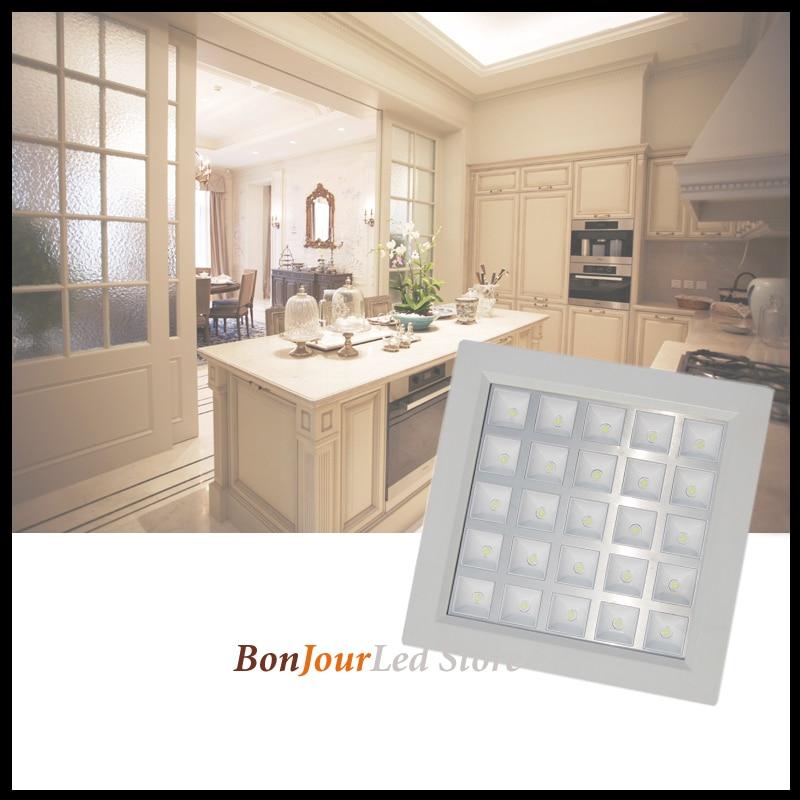 LED unidslote gratis blanca envío rejilla W 5 25 lámpara EWHI9eD2Y